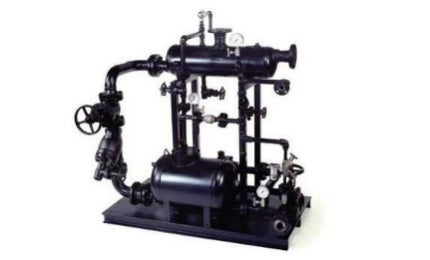 Condensate is pumped using mechanical means to a point of re-use, which is generally the boiler feedwater tank.