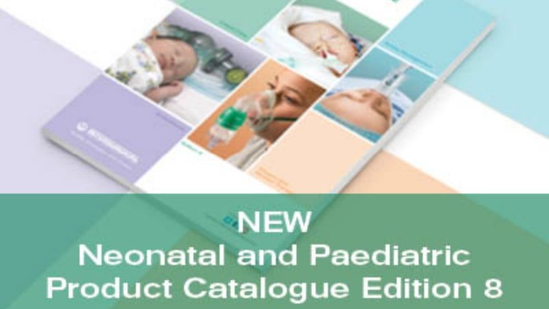 New neonatal and paediatric product catalogue.